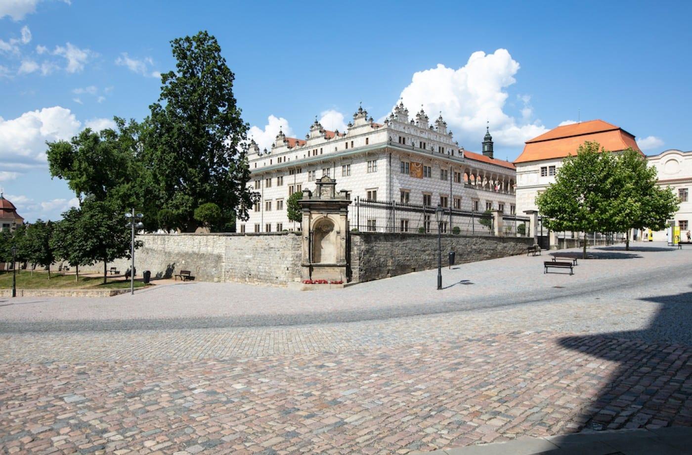 Renowed renaissance castle complex